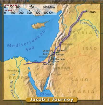 Jacobs journey